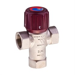 Клапан термостатический смесительный 3/4  6110С34 32-50гр. - фото 4923