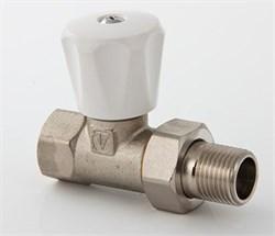 008L Клапан ValTec руч.для рад.1/2  компакт - фото 5289