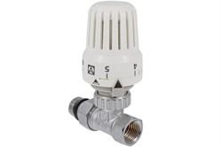 48 Клапан с термостатической головкой прямой 1/2 - фото 5753