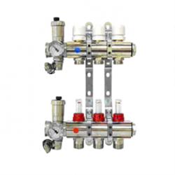 Коллектор. группа с расходомерами в сборе 1 х3в ЕК  VT.596MNX - фото 5820