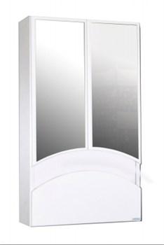 Шкаф навесной  Радуга-46  Цветы белый - фото 5945