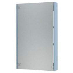 Шкаф зеркальный-50 Голубой - фото 5995
