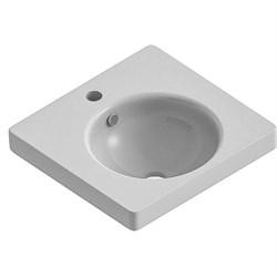Умывальник  Ringo50 F01  УП (белый ВКС) (тумба Квадро50, Агат50) - фото 6515