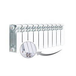 Радиатор биметаллический RIFAR BVL 200-10 - фото 6652