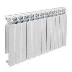 Радиатор алюминиевый  Brixis Base 500/12-секций - фото 6692