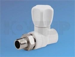 Вентиль радиаторный прямой НР 25-3/4 - фото 7700
