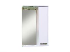 Зеркало  Квадро-60  бел